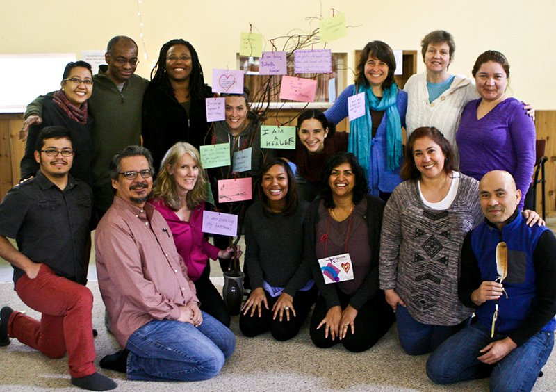 Group photo at a diversity workshop